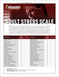 holmes and rahe stress inventory test Self-assessment stress comes in all sorts of shapes and sizes, differs for each of us, we all respond to stress in diverse ways, acute and chronic stress have different effects, and the separation between them is often blurred.